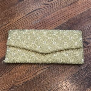 Handbags - Vintage beaded clutch